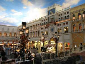 im Venetian Resort Hotel in Las Vegas
